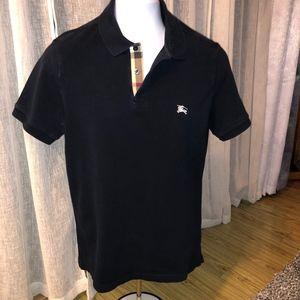 Burberry Shirts - Burberry Brit Dark Navy Blue Polo Size M